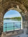 Pont d`Avignon bridge in Avignon, France Royalty Free Stock Photo