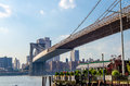 Pont de brooklyn Photographie stock libre de droits