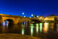 Pont de la tournelle paris france in Royalty Free Stock Images