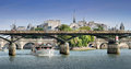 Pont des Arts bridge. Royalty Free Stock Photos