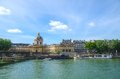 Pont des arts bridge in paris france Royalty Free Stock Image