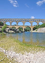 Pont du Gard, France Stock Photo