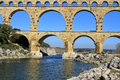 Pont du Gard France Royalty Free Stock Photography