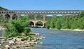 Pont du Gard, France Royalty Free Stock Photo