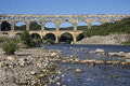 Pont du Gard - South of France Stock Images