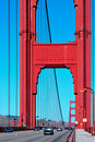 Pont en porte d'or, San Francisco, Etats-Unis Images stock