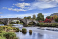 Pont Fawr Royalty Free Stock Photo