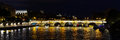 Pont Neuf Bridge Paris panorama Royalty Free Stock Photo