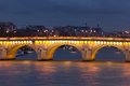 Pont Neuf in Paris Stock Photo