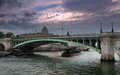 Pont Notre Dame. Royalty Free Stock Photo