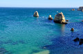 Ponta da Piedade, Algarve, Portugal Royalty Free Stock Photography