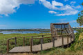 Ponta dos corvos seixal birdwatching portugal facility near corroios Royalty Free Stock Image