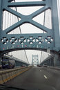 Ponte de Ben Franklin Foto de Stock