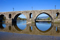 Ponte de lima roman bridge of in portugal Stock Image