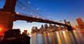 Ponte di Brooklyn a New York Fotografia Stock Libera da Diritti