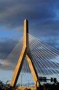 Ponte do monte de depósito em Boston Fotos de Stock