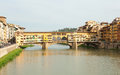 Ponte most Vecchio Obraz Stock