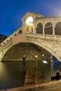 Ponte Rialto Royalty Free Stock Photo