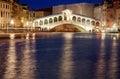 Ponte Rialto Venezia Royalty Free Stock Photo