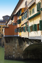Ponte vecchio bridge in florence picturesque old town tuscany italy Royalty Free Stock Photography
