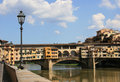 Ponte Vecchio in Florence Royalty Free Stock Image
