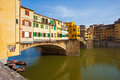 The ponte vecchio is one of symbols Royalty Free Stock Images