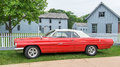 Pontiac catalina dearborn mi usa june a car at the henry ford thf motor muster held at greenfield village Royalty Free Stock Images
