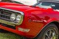 1968 Pontiac Firebird Royalty Free Stock Photo