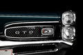 Pontiac gto front closeup of a Royalty Free Stock Photography