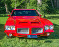 Pontiac gto grosse pointe shores mi usa june a car at the eyeson design car show held at the edsel and eleanor ford house Stock Photography