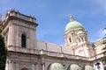 Pontifical shrine of the blessed virgin of the rosary pompeii or pontificio santuario della beata vergine del santo rosario Royalty Free Stock Image