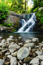 Poo soi dao waterfall national park thailand Royalty Free Stock Image
