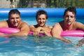 In  pool Stock Photos