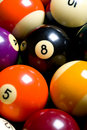 Pool Ball or Billiards Background Royalty Free Stock Image