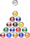 Pool Ball Buttons Royalty Free Stock Photo