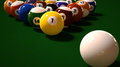Pool/Billiard Balls Royalty Free Stock Photo