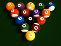 Pool/Billiard Balls Royalty Free Stock Photos