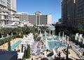 Pool at Caesar's Las Vegas Royalty Free Stock Photo