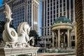 Pool of Caesars Palace Hotel and Casino - Las Vegas, Nevada, USA Royalty Free Stock Photo