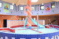 Pool for children beautiful with thermal water Royalty Free Stock Images
