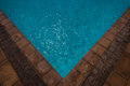Pool Corner Tiles Water Stock Photography