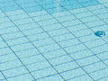 Pool detail of the outdoor swimming with space for text Stock Photo