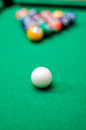 Pool game balls Stock Photography
