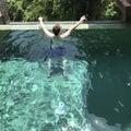 Pool Guy Backview Royalty Free Stock Photo