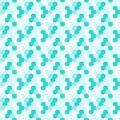 Pool Hexagonal Tiles Seamless Pattern