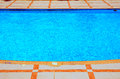 Pool in marsa alam Royalty Free Stock Photos