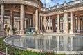 Pool in Montecatini Terme Royalty Free Stock Photo