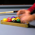 Pool player 02 Royalty Free Stock Photo