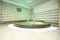 Pool in sauna center in waterpark caribia moscow june on june moscow russia perovo was opened Stock Photography