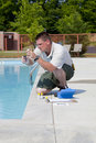 Pool Service Royalty Free Stock Photo